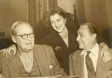 Lionel, Diana, and John Barrymore, acting family
