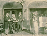 "A scene from ""Mrs. Bumpstead-Leigh"""