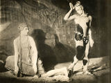 "Waslav Nijinsky and Flore Revalles in ""Afternoon of a Faun"""
