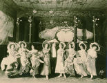 "A scene from Act I of ""The Merry Widow"""