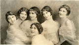 Portrait of the six original Albertina Rasch Dancers
