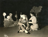 "A scene from a production of ""Dear Brutus"""