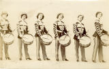 "The Drummer Girls of ""The Rogers Brothers in London"" company"
