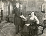 "A scene from ""The Riddle Woman,"" with Geraldine Farrar."