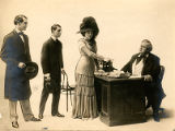 "A scene from Act IV of ""A Gentleman from Mississippi"""