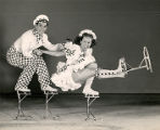 Harris and Phyllis Legg, novelty skaters with the Ice Follies of 1949.