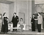 "A scene from ""The Only Girl.""  Includes L to R:  and understudy"