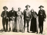 "Cast members of ""The Trail of the Lonesome Pine."""