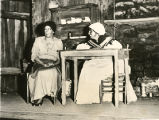 "A scene from a New York stage production of ""Scarlet Sister Mary"""