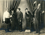"A scene from a vaudeville act ""The Sleeping Car.""  Dated Mar. 1904."