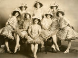 The Palace Girls, vaudeville performers.  Dated June 8, 1913.