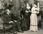 "A scene from the play ""Life with Father.""  Includes Percy Waram"