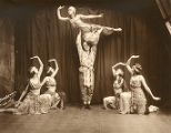 Herman Wainura, Alice Manning and dancers