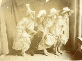 "Chorus girls from the stage play ""Foxy Quiller.""  Dated Dec. 1902."