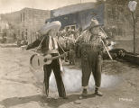 "Fatty Arbuckle in a scene from ""The Sheriff"""