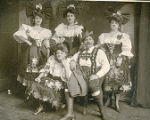 Members of the Tyrolean Quintette, a vaudeville act