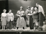 "A scene from the Broadway play ""Jacobowsky and the Colonel."