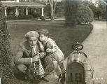 "A scene from ""The Love Special,"" with Wallace Reid."
