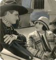 Jacqueline Logan and Tom Mix