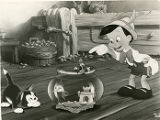 "A scene from the Walt Disney full length feature cartoon ""Pinocchio""."