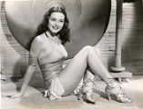 Film actress Alma Carroll.