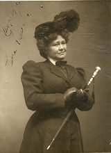 Eva Earle French, stage actress