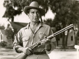 "Film actor Richard Conte in ""Under the Gun."""