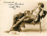 Vaudeville and stage actress Clara Ballerini.