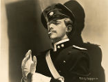 "Film actor Douglas Fairbanks, Jr. in ""The Prisoner of Zenda."""