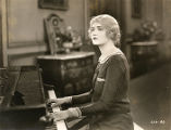"Silent film actress Harriet Hammond in ""Man and Maid."""