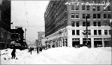 4th Ave. and University St. after a snowstorm, winter 1916