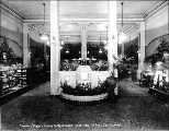 Chauncey Wright's Bakery and Restaurant interior, 1918
