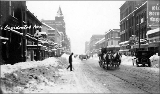 Occidental Ave. after a snowfall, 1916