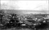 2nd Ave. from Denny Hill, ca. 1882