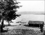 Children's Swimming Bath and Boat House on the southwest shore of Green Lake, n.d.