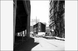 Alaskan Way, looking north from vicinity of Washington St., ca. 1960