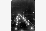 3rd Ave. from Cherry St. at night, ca. 1914