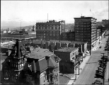 Downtown, looking east from Spring St. and 4th Ave., ca. 1923