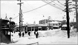 14th Ave. E. and E. Madison St. after a snowstorm, winter 1916