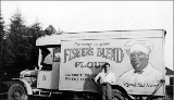 Fisher Flouring Mills Co. truck, July 1920