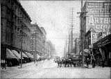 2nd Ave., looking north from James St., ca. 1903
