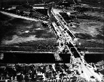 Montlake Bridge, aerial view, 1925