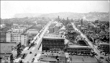 5th Ave., looking north from Westlake Ave. and Olive Way., ca. 1925