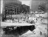 Alaska Building construction, June 7, 1904