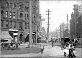 1st Ave., looking north from James St., ca. 1903