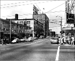 N.E. 45th St. from University Way, ca. 1963