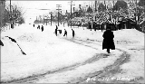 14th Ave. E. and E. Union St. after a snowstorm, winter 1916