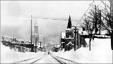 James St. from 9th Ave. after a snowstorm, winter 1916