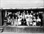 Theatrical group, West Seattle, ca. 1922