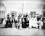 Daughters of the Pioneers of Washington social event, 1937